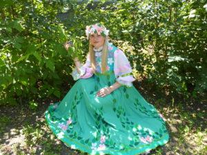 костюм весны